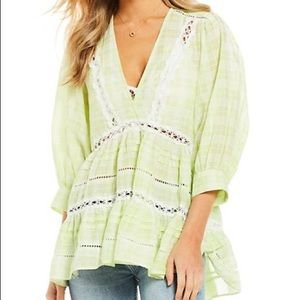 FREE PEOPLE Time Out Tunic Top